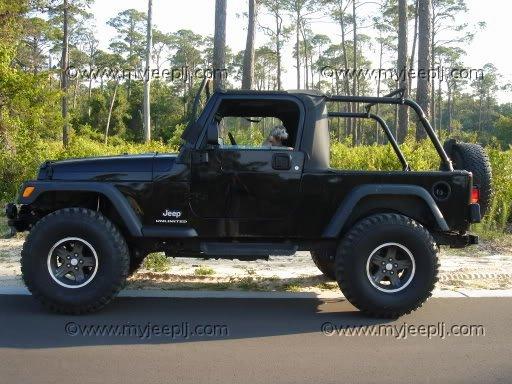 The Jeep Wrangler | Jeep TJ Lift Pics